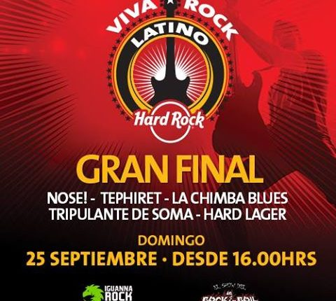 """DESEO"" FINALISTA DE VRL HARD ROCK CAFE"
